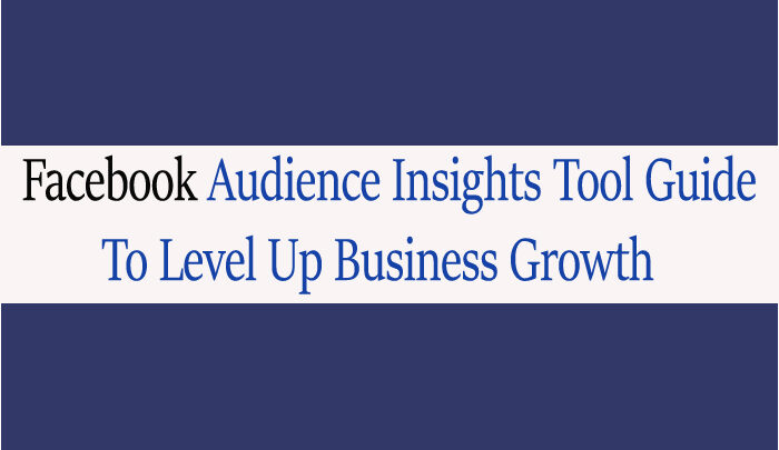 Use Facebook Audience Insights Tool To Escalate Business Growth 2020