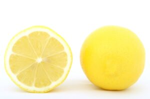 Lemon - ingredient in kitchen